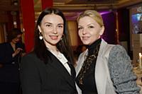 Юлия Казанцева, Валерия Кумпф. Церемония вручения