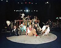 Актеры на сцене. Академический русский драматическ