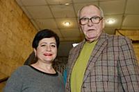 Эммануил Виторган с супругой Ириной. Премьерный по