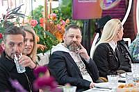 Андрей Разыграев, Ксения Собчак, Захар Бабин. Прес