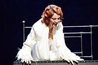 Лидия Вележева. Пресс-показ спектакля «Театр» по р