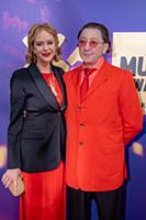 Григорий Лепс с супругой Анной Шаплыковой. Церемон