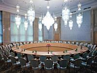 Гостиница ЦК КПСС 'Октябрьская' (Президент-Отель). Москва, 1984 год.