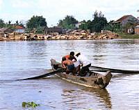 Народная Республика Кампучия. 1984-1985 годы. Часть 6. Деревни. Сельское хозяйство. Рыбаки.